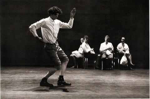 Alain Platel, Les Ballets C de la B Sélection Nationale pour la Belgique aux Rencontres Chorégraphiques de S. St. Denis MC93 Bobigny