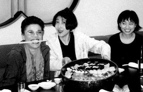 Dîner post Masterclass organisée par Reiko Shiga Shiwa à Itami Osaka Japon