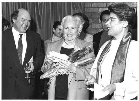 Lorrina B. Gde Bretagne Bonnie Bird prix chorégraphique qui portait son nom qu'elle remettait à des chorégraphes des Rencontres Chorégraphiques S.St.Denis