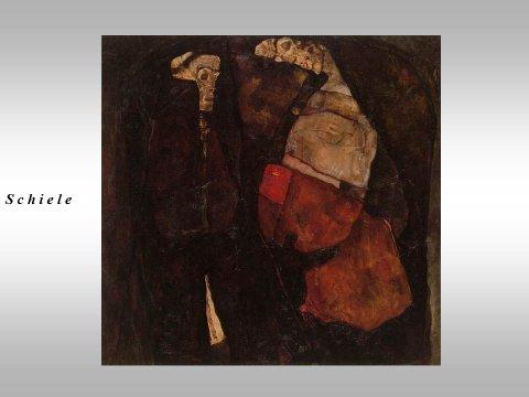 The inteligent eye Extrait Masterclass 2007 étude de lumière, des couleurs et des formes du rythme et de l'espace peinture Egon Schiele