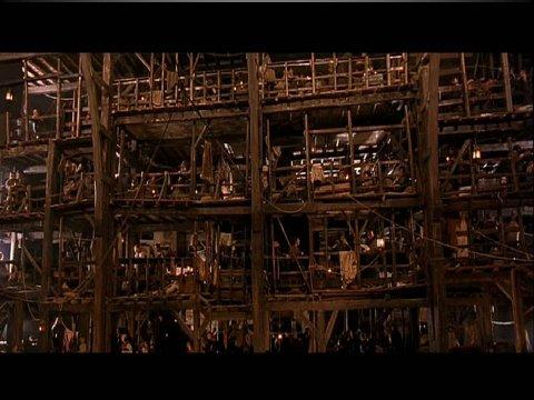 The inteligent eye Masterclass 2007 étude de la relation son image espace de la première séquence du film The gangs of New York réalisé par Martin Scorses
