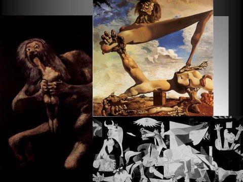 The inteligent eye Masterclass 2007 étude des oeuvres de Goya Dalí Picasso