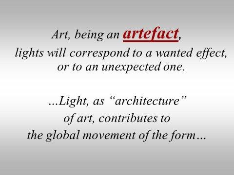 The inteligent eye Masterclass 2007 évocation des processus de création dans l'art contemporain et dans la danse 3