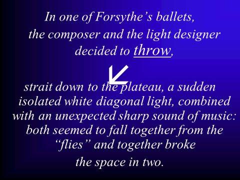The inteligent eye Masterclass 2007 évocation des processus de création dans l'art contemporain et dans la danse 8