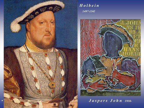 The inteligent eye Masterclass 2007 Holbein Jasper John