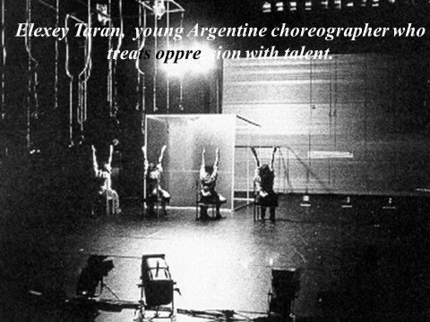 The inteligent eye Masterclass 2007 chg Alexey Taran Venezuela photo extraite du Beau Livre La Danse dans le Monde Éditions Les Belles Lettres