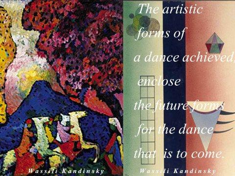 The inteligent eye Masterclass 2007 deux oeuvres de Wassily Kandinsky