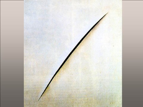 The inteligent eye extrait de la Masterclass 2007 Lucio Fontana