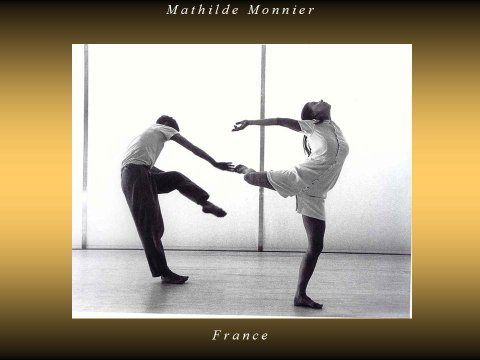 The inteligent eye extrait de la Masterclass Mathilde Monnier 2  2007