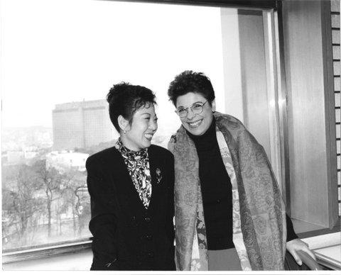 Wasoon Yook et Lorrina B. à Séoul