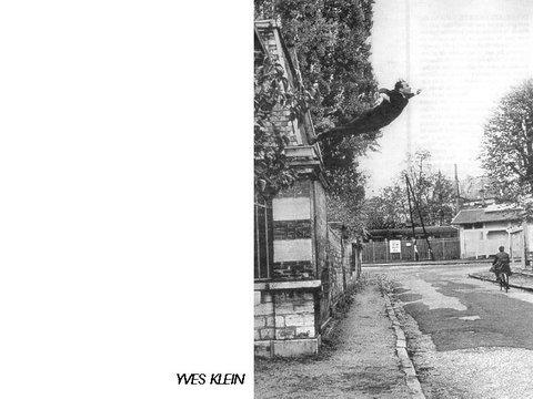 Yves Klein Le subversif dans l'art élément de la Masterclass 1998